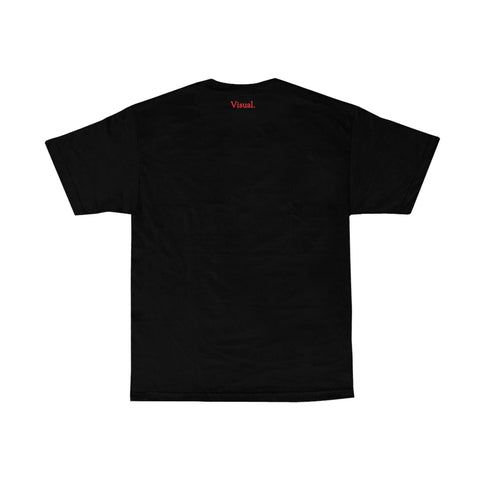 VISUAL X Remy LaCroix Grid Tee - Black