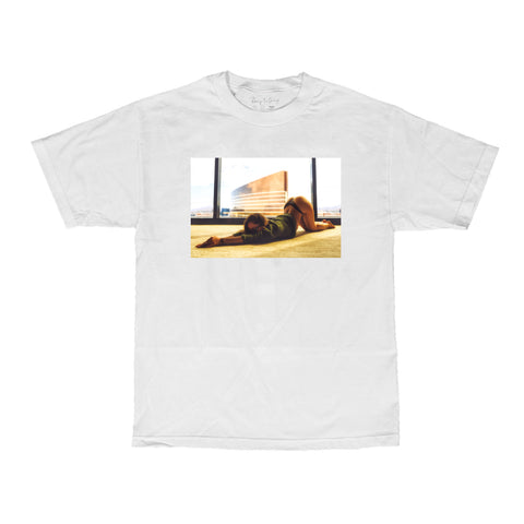 VISUAL X Remy LaCroix Stretch Tee - White
