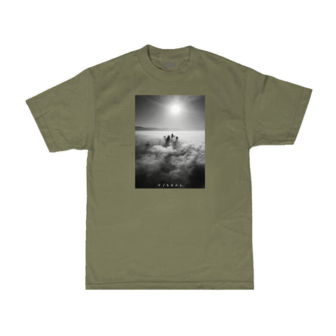 Shadows Tee - Military Green