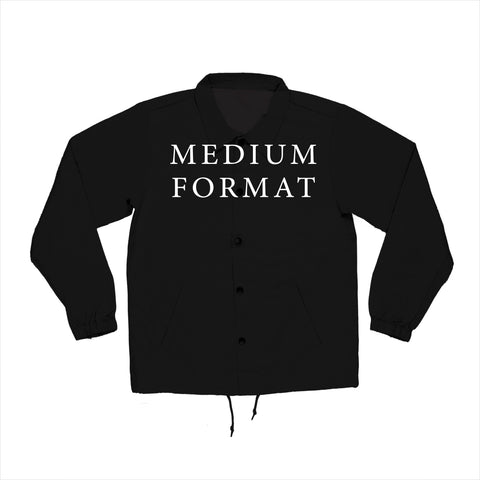 Medium Format Coaches Jacket - Black