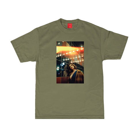 Saturday Night Tee - Military Green