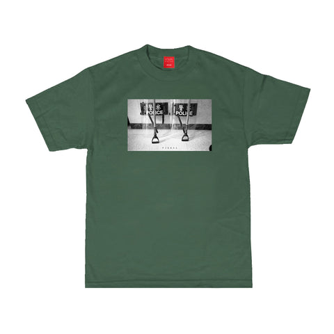 Police Tee - Forest Green