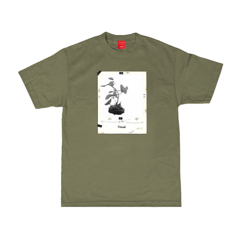 Noted Tee - Military Green