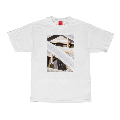 Visualization Tee - White