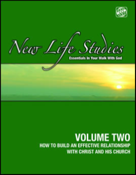 J - NEW LIFE STUDIES VOLUME TWO - Knowing Christ Series