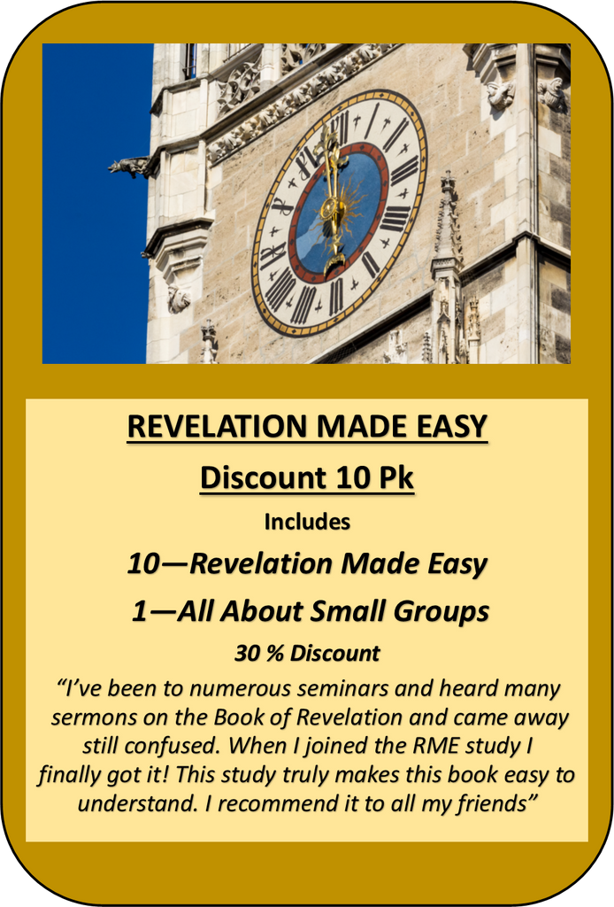 V2- REVELATION MADE EASY - 10 PACK DISCOUNT KIT