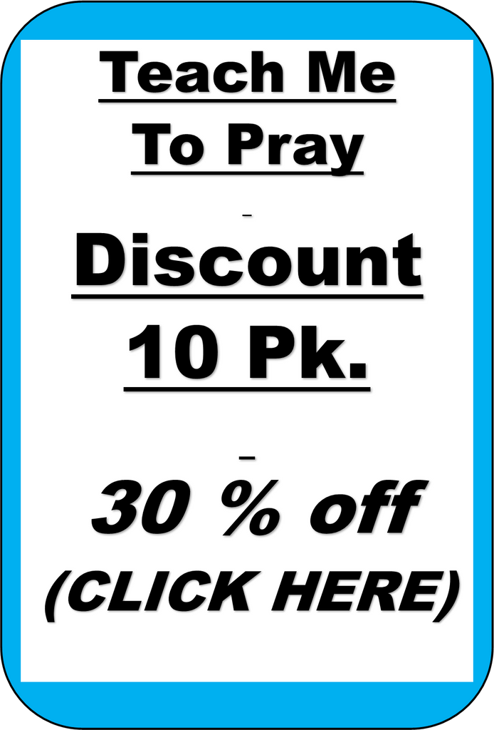 S1 - TEACH ME TO PRAY 10 PK - 30% Savings