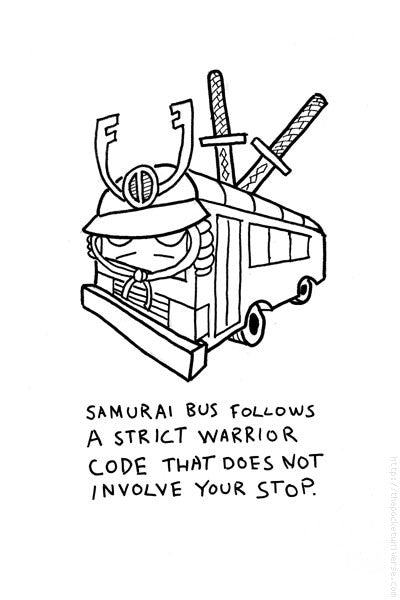 Samurai Bus