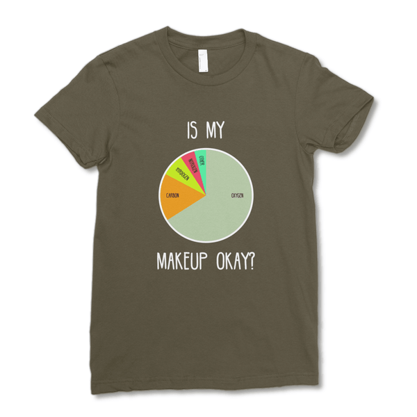 Is My Makeup Okay? (Dark) Women's T-Shirt