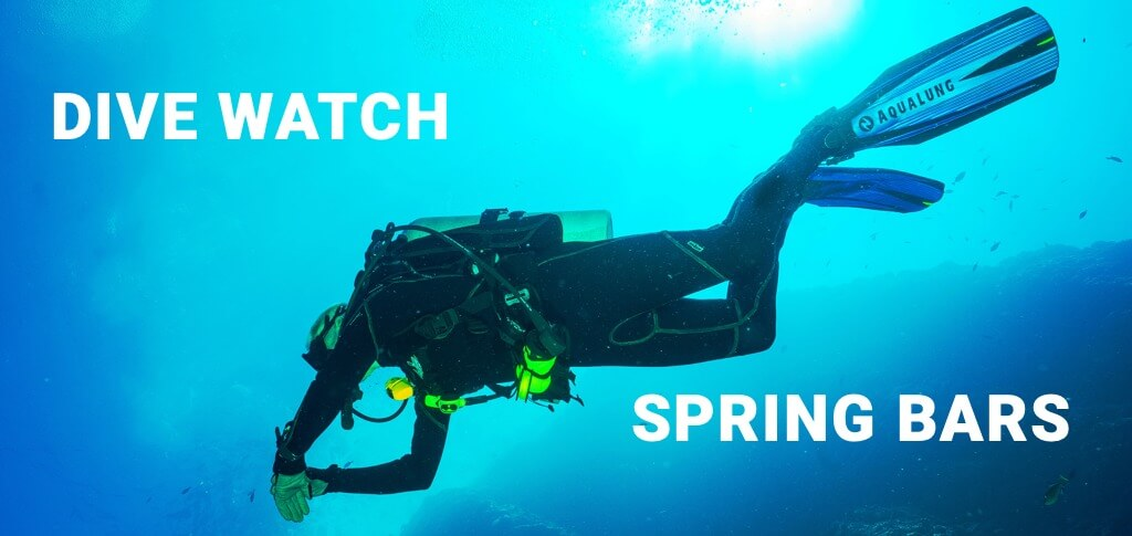 Dive Watch Insight: Fat Spring Bars vs. Normal Spring Bars