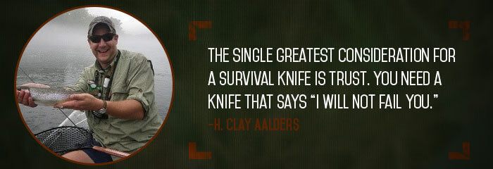 H. Clay Aalders, The Truth About Knives