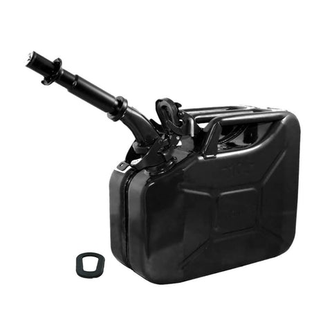 Wavian 10L (2.6 Gal) NATO Jerry Can With Spout, Gasket 3024 Black