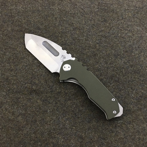Medford Knife and Tool Praetorian Genesis G Folder / Flipper MK28DTT-10TM - G10 Scale