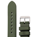 Marathon 20mm Diver Watch Replacement Vulcanized Rubber Strap WW005006GR - Green - Top Spec U.S.