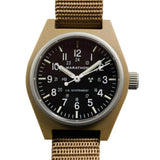 Marathon General Purpose Mechanical Watch (GPM), Desert Tan, Dial | Tactical Watches by Marathon - Top Spec U.S.