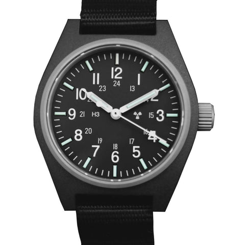 Marathon GPQ General Purpose Quartz Watch with Tritium H3 WW194004 Black | Tactical Watches by Marathon - Top Spec U.S.