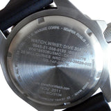 Marathon USMC Automatic Dive Watch (GSAR), Case Back | Tactical Watches by Marathon - Top Spec U.S.
