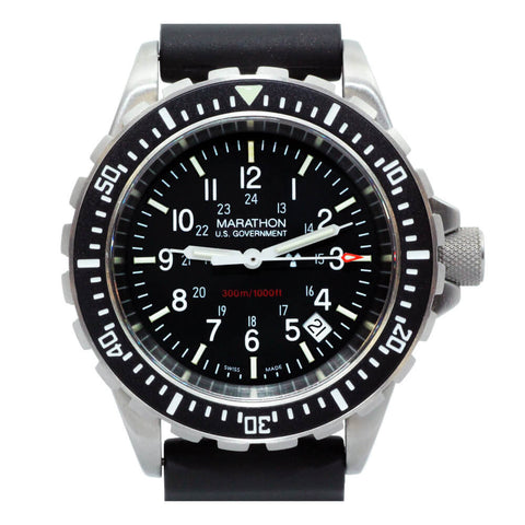 Marathon TSAR Military Quartz Dive Watch WW194007, WW194007NGM | Tactical Watches by Marathon - Top Spec U.S.