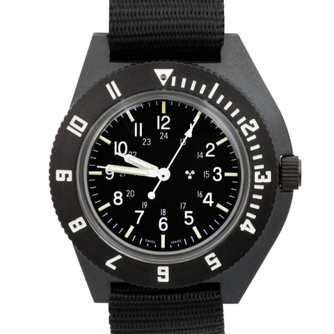 Marathon Navigator Watch, Quartz, Sterile Dial WW194001 | Tactical Watches by Marathon - Top Spec U.S.