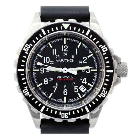 Marathon GSAR Automatic Military Divers Watch WW194006NGM - No Government Markings (Sterile Dial) | Tactical Watches by Marathon - Top Spec U.S.