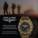 Marathon Duvdevan Navigator Watch, Quartz with Date, Poster / Flyer | Tactical Watches by Marathon - Top Spec U.S.