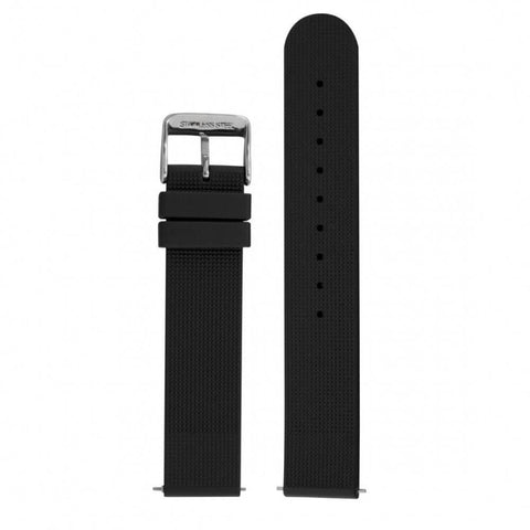 Marathon Medium Quartz Diver's Watch Replacement Vulcanized Rubber Strap WW0050018BK