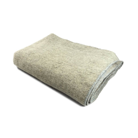 Czech Army Blanket 100% Wool, Brand New, Heather Brown / Gray / Off-White | Military Wool & Mylar Survival Blankets by Swiss-Link - Top Spec U.S.