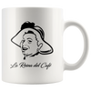 La Reina Del Cafe White Coffee Mug