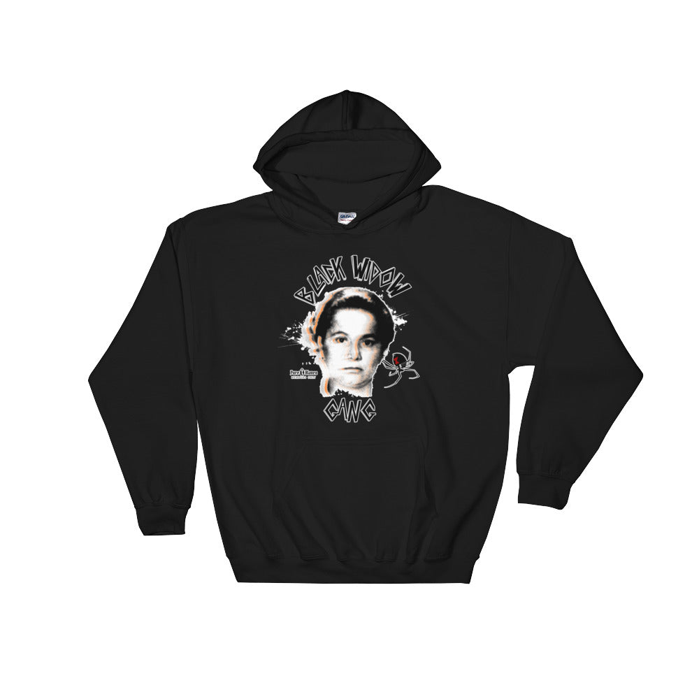 Black Widow Gang Members Only Hoodie Pullover