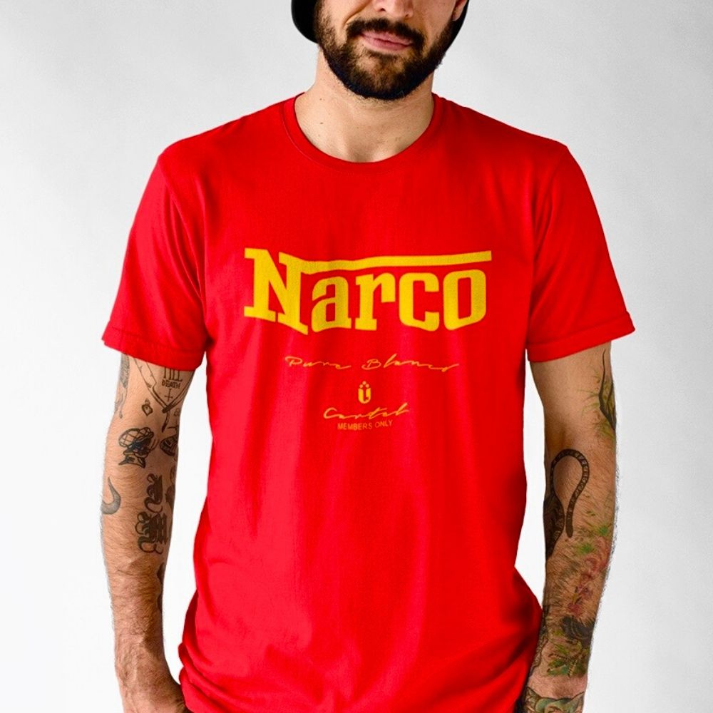 Narco Members Only Tee