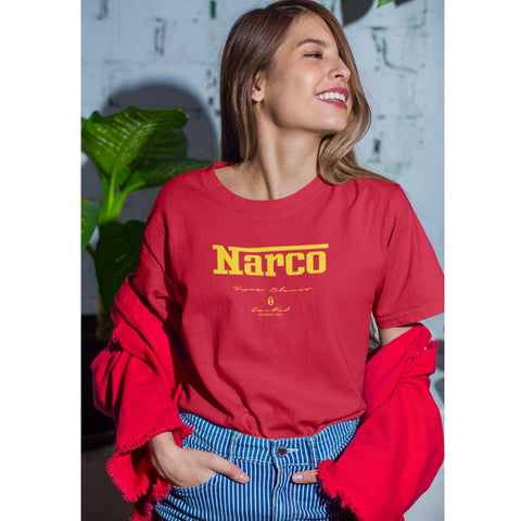 Women's Narco Members Only Tee