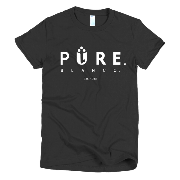 Women's Pure Blanco Logo Tee - Pure Blanco - 6