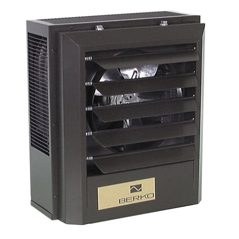 BERKO Industrial Downflow Space Heater - 208V - 1-3PH - 5000 Watts