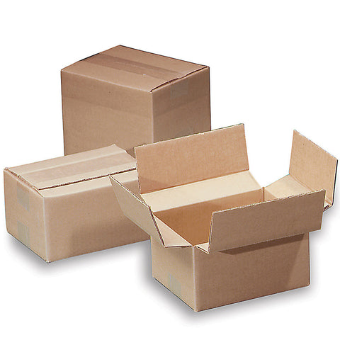 Variable-Height 200-Lb. Test Corrugated Shipping Boxes - 10x8x8""