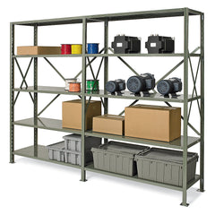 "Extra Shelf for System 200 Complete Boltless Shelving Units - 48""W - 48x12"""