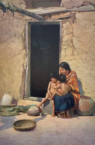 Illustration of a Hopi Mother