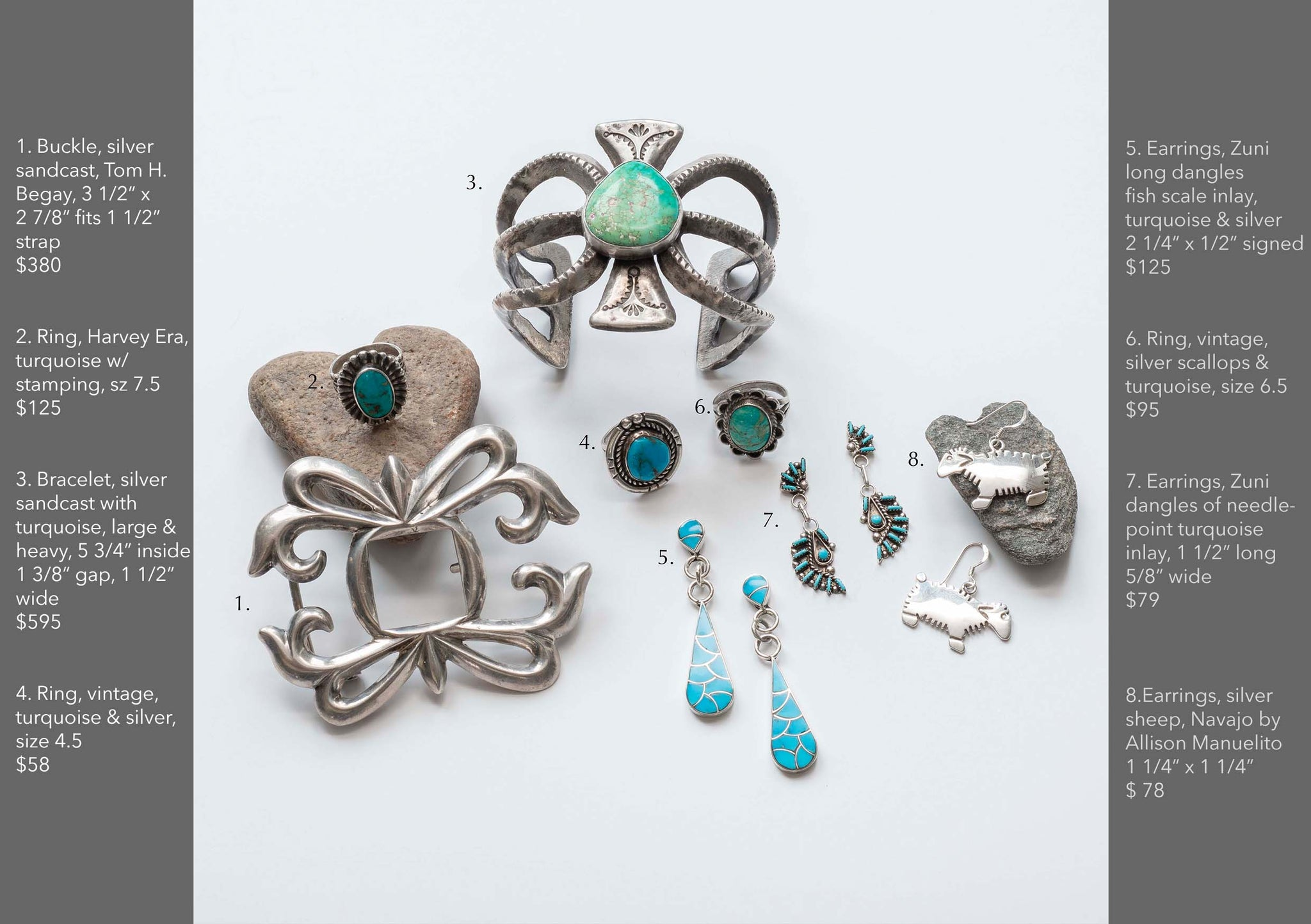 Valentine's Day Gift Guide of Native American Turquoise Jewelry