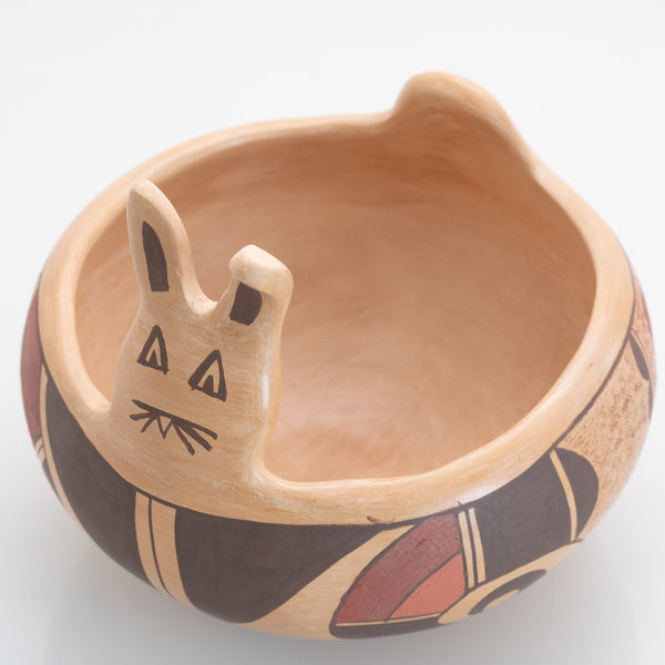 Hopi Easter Bunny Bowl From the Collection of Martha H. Struever