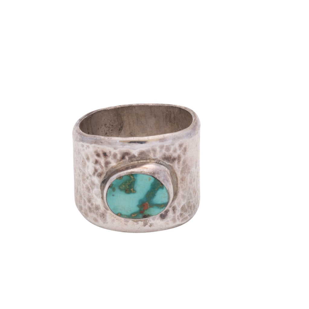 Brett Bastien Ring of Turquoise and Silver