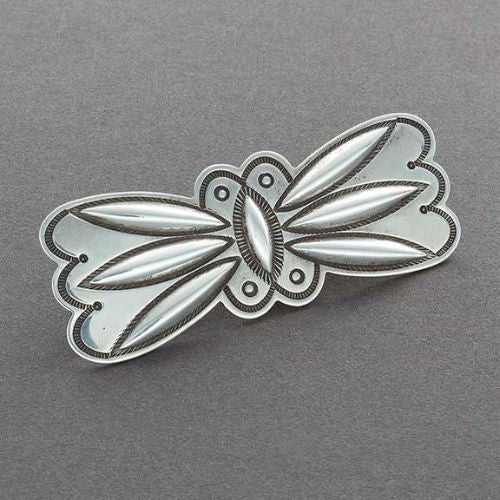 McKee Platero Silver Repousse Butterfly Pin