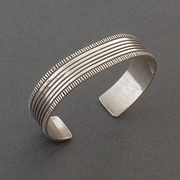 Vintage Silver Bracelet by Yazzie Johnson