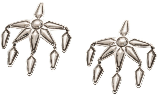 Cody Sanderson Six Pointed Star Dangle Earrings