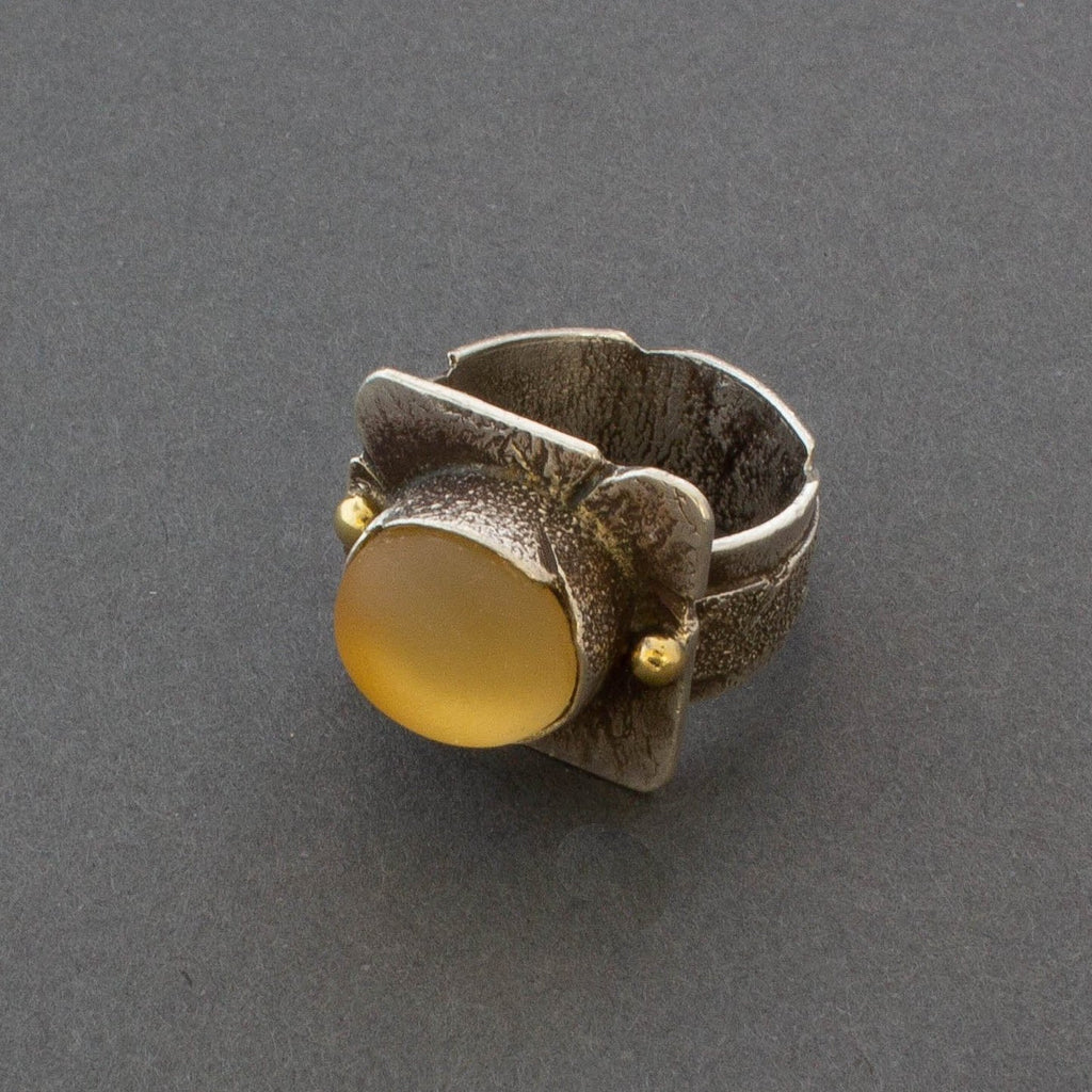 Jolene Eustace Silver Ring With Quartz Stone