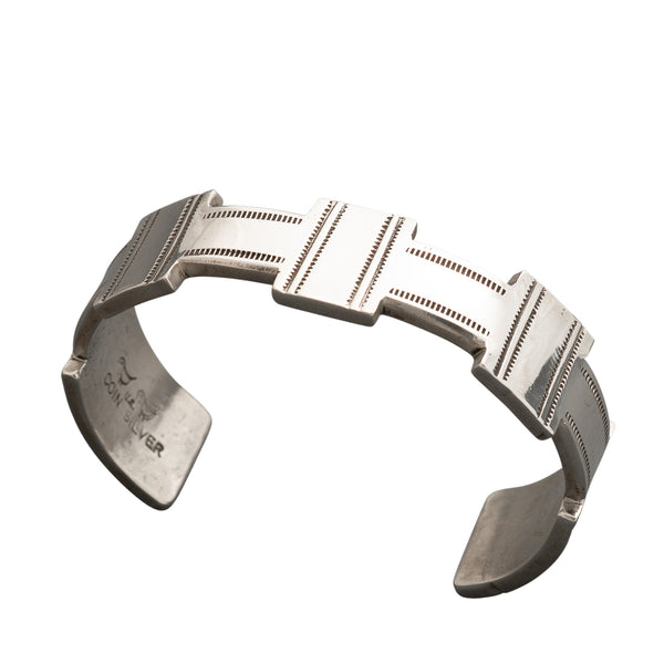 Mike Bird Romero Bracelet of Coin Silver