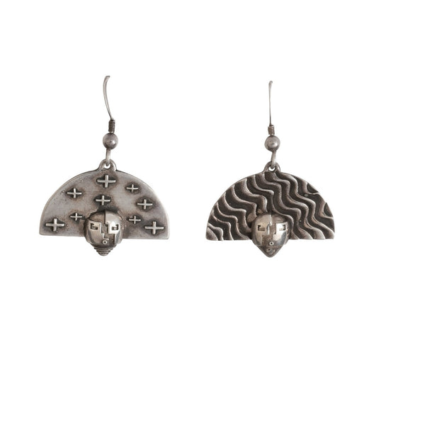 Joe Cajero Dangle Earrings Entitled Nurtured by Prayer.jpg