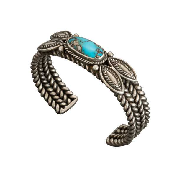 Perry Shorty Bracelet of Natural Turquoise