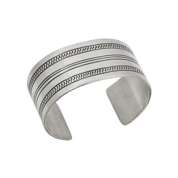 Vintage Silver Cuff By Yazzie Johnson