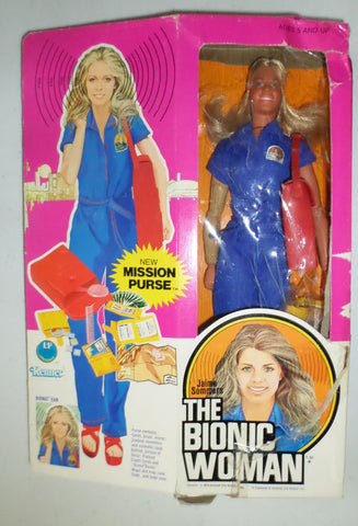 "1975 Kenner Bionic Woman Jamie Summers 13"" Figure with Box"