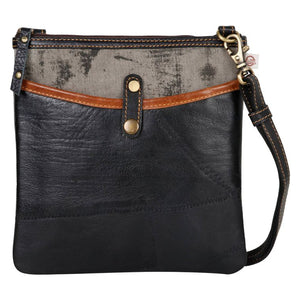 Upcycled Leather Crossbody