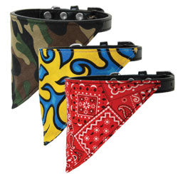 Bandana Dog Collars - Poochles
